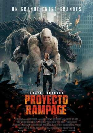 "Poster for the movie ""Proyecto Rampage"""