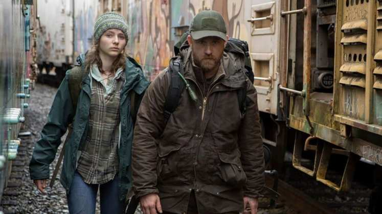 """Image from the movie """"Leave No Trace"""""""