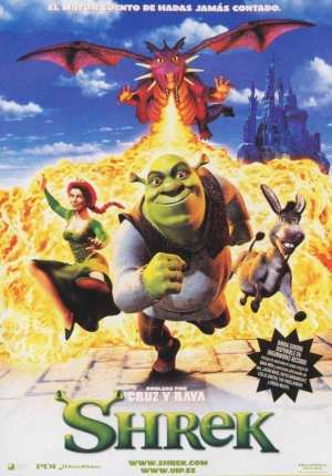 "Poster for the movie ""Shrek"""