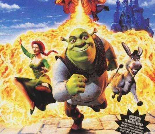 """Poster for the movie """"Shrek"""""""