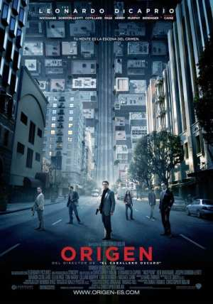 "Poster for the movie ""Origen"""