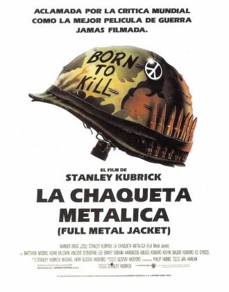 """Póster de la película """"La chaqueta metálica"""""""