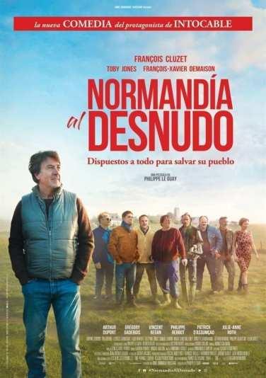 """Póster de la Película """"Normandía al desnudo"""""""