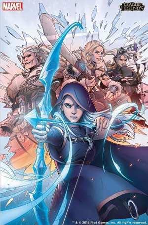 Marvel y Riot Games se unen para publicar novelas gráficas de League of Legends