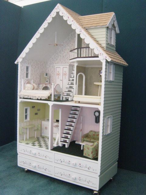 Alpine Wood Barbie Dollhouse Kit  Martin Dollhouses