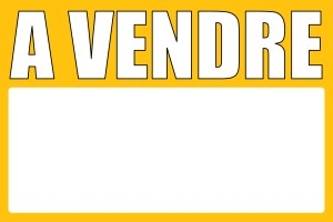 Panneau immobilier «A VENDRE» : que savoir sur ces panneaux en akylux ?