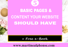 5 Basic Pages And Content Your Website Should Have