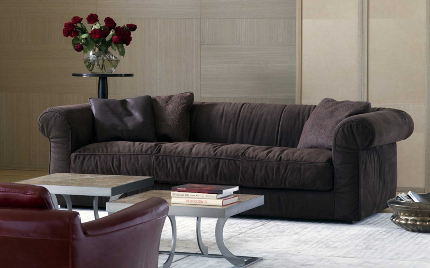 baxter sofa dark gray table alfred soft armchairs and sofas