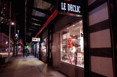 Décoration de Noël - Boutique Le Déclic - Martigny. Martine Monn 2014