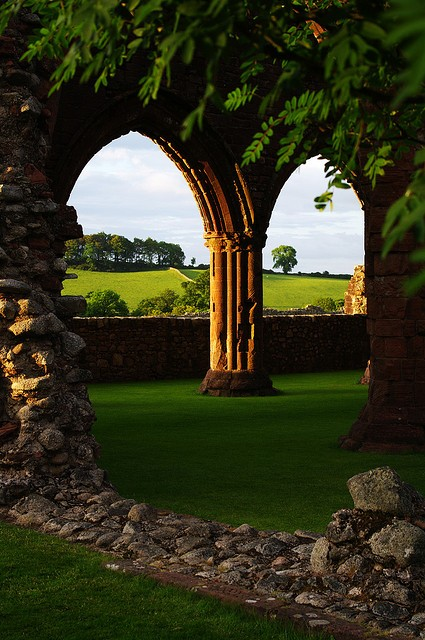Ancient Arches, New Abbey, Scotland
