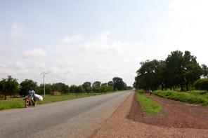 Tibin : route