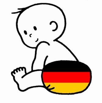 tysk sprog baby