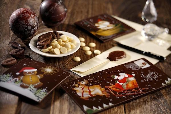Festive Chocolate Card