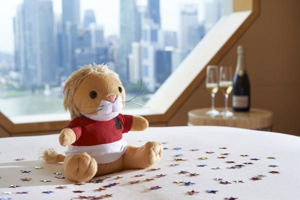 Limited Edition Ritz-Carlton Singapore 50 Lion Beanie