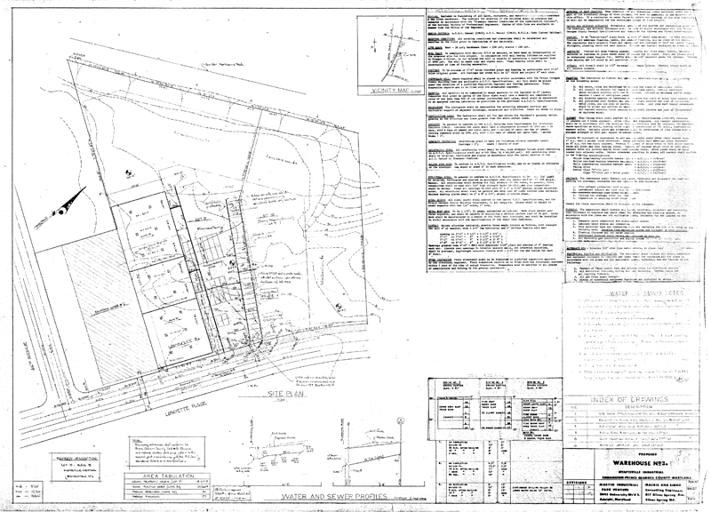 Martin Industrial Park :: Building 3A Drawings