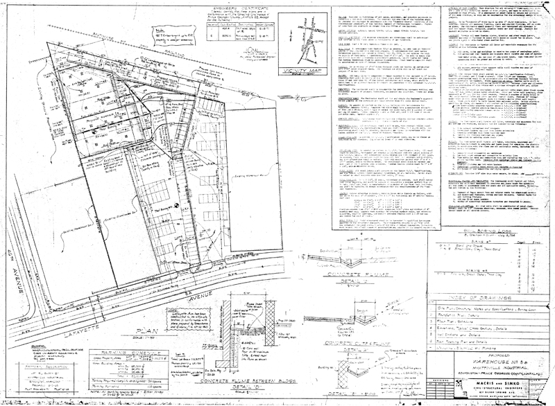 Martin Industrial Park :: Building 3B Drawings