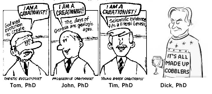 From atheism to Genesis