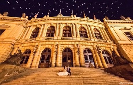 Svatební fotografie - Rudolfinum Praha