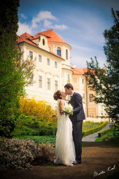 Svatební fotografie- Chateau Baroque