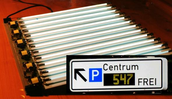 Backlight Anzeigetafel Centrum 150dpi
