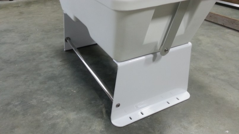 Marine Cooler Seat Frame Frameswalls Org