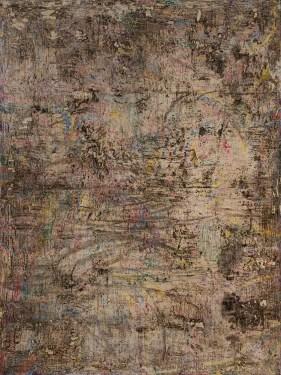 Estuary II 72 x 54 inches oil on canvas