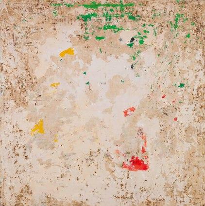 Tremolite 52 x 52 inches oil on canvas