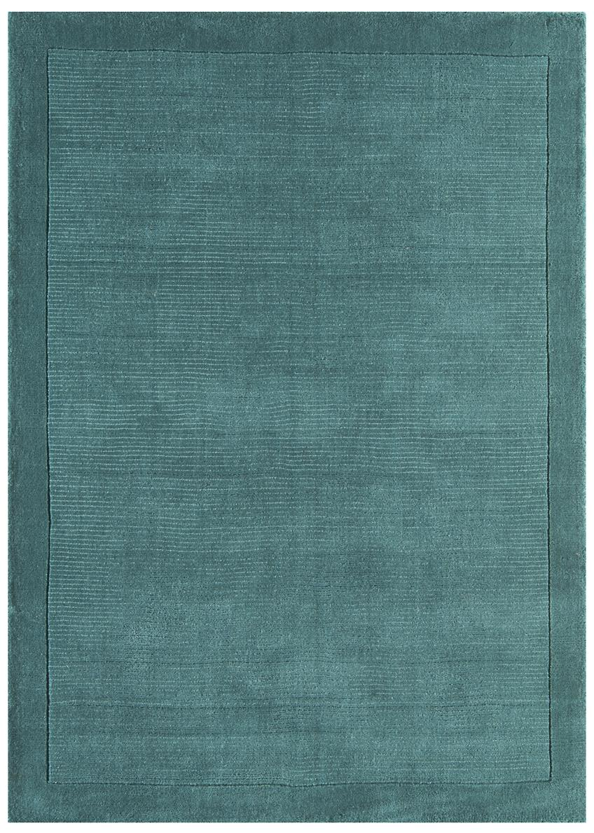 Venice Soft Plain Wool Rugs Blue Rug Martin Phillips