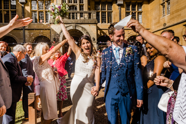 Coombe Lodge Wedding in Summer
