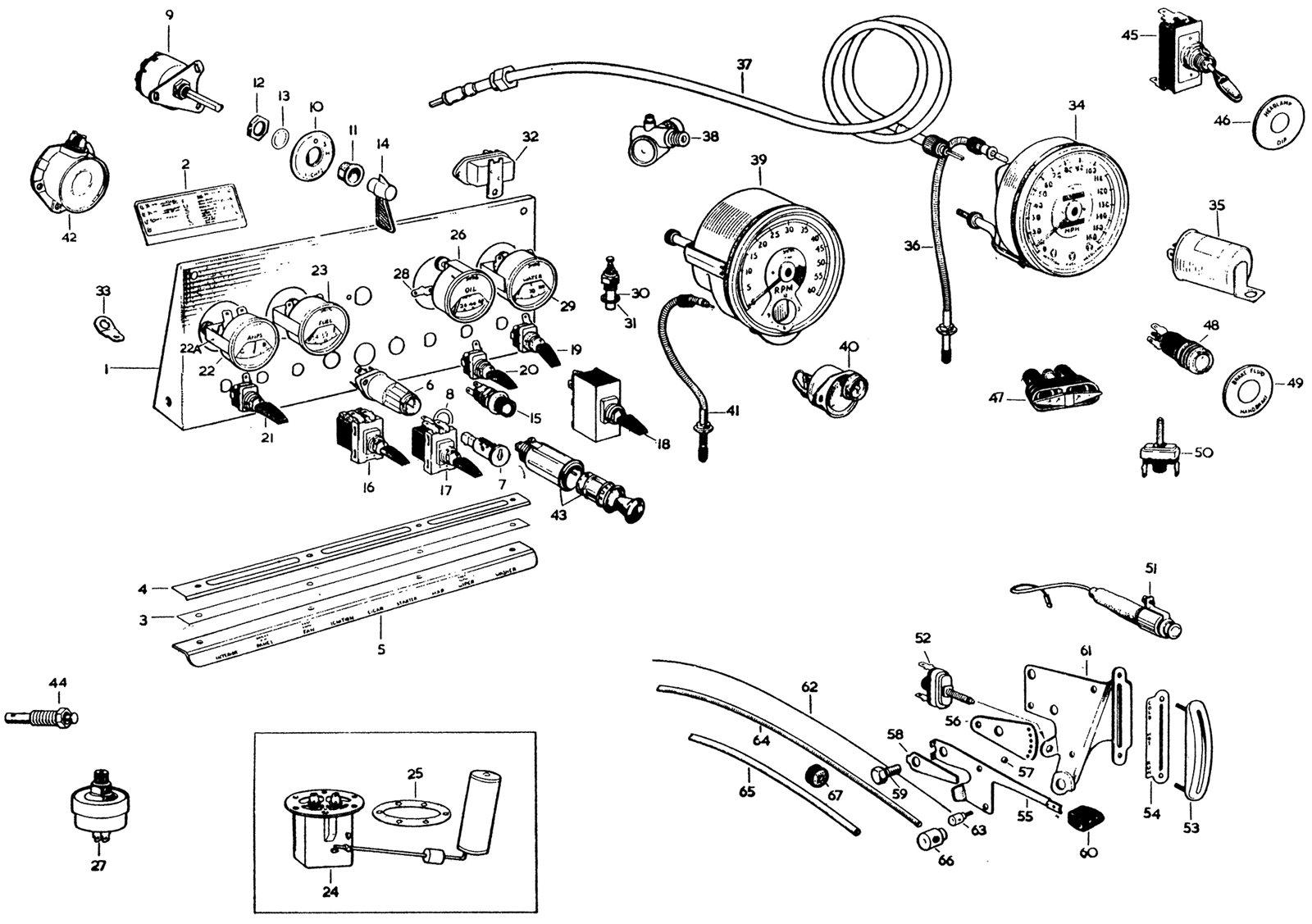 Jaguar E Type Wiring Harness Layout / Wiring Diagram