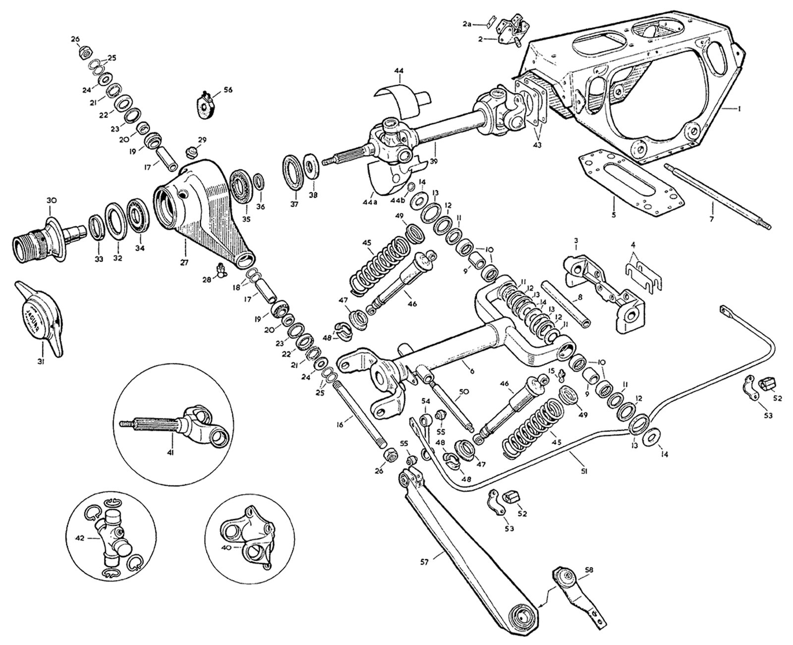 Jaguar Xke Rear Suspension