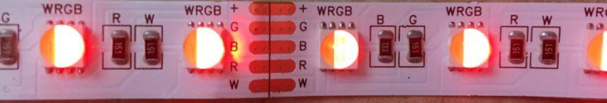 Bare RGBW LED Strip