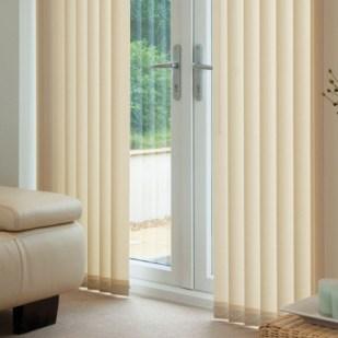 northampton blinds vertical cream