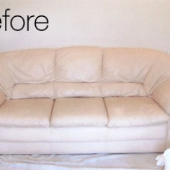 Leather Sofa Cleaning Repair Company Outdoor Rattan Corner Sets Before