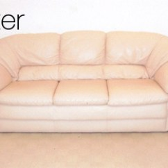 Leather Sofa Cleaning Repair Company White Lounge