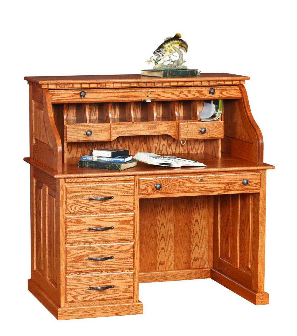 42 Roll Top Desk  Martins Furniture