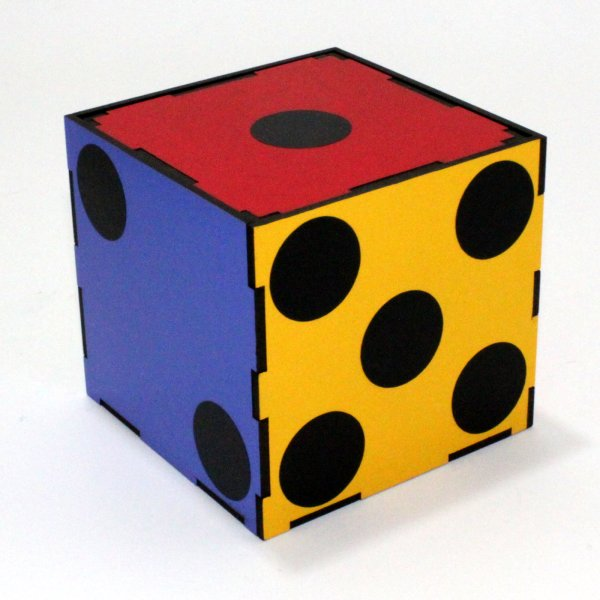 Color Changing Dice 3 Times Tora Magic Company