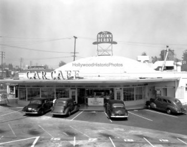 Brown Derby Car Cafe 1941