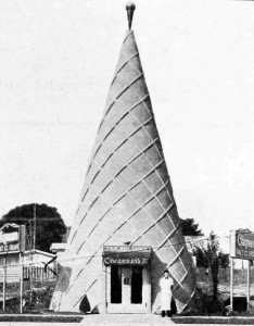 Chapman's big ice cream cone