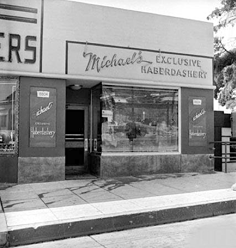 Michael's Exclusive Haberdashery, 8804 Sunset