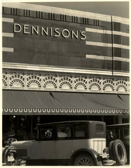 Dennison's Market, 426 Beverly Drive, Beverly Hills, circa 1920s