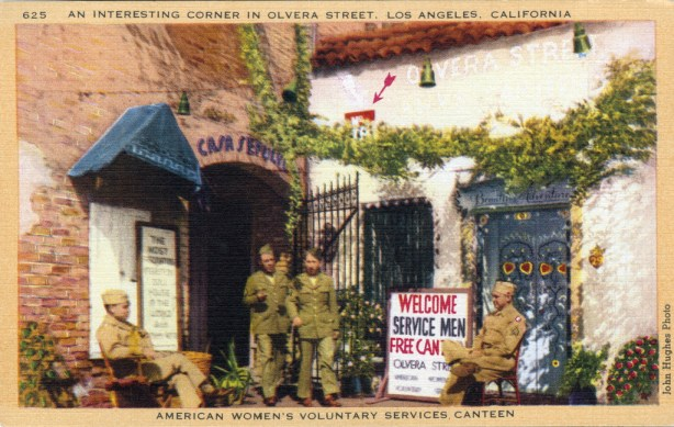 American Women's Volunteer Services Canteen, on Olvera St. in downtown L.A.c