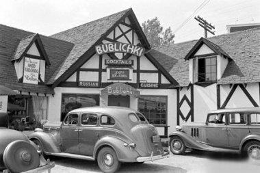 Bublichki Russian Restaurant, 8846 Sunset Boulevard