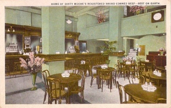 Dinty Moore's - 214-16 West 8th Street, Downtown L.A., 1920s