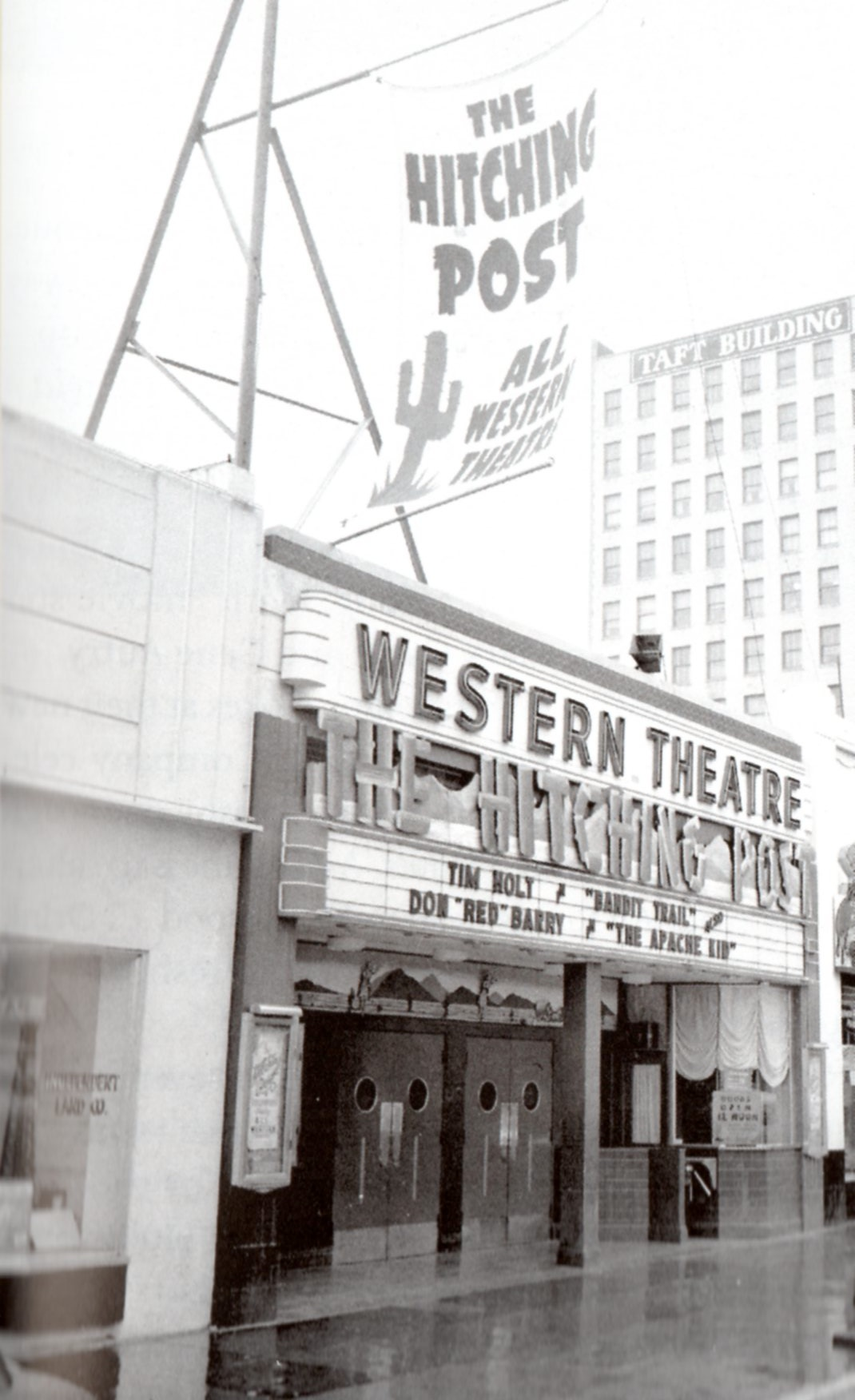 White apron brea ca - Hitching Post Hollywood Blvd 1941