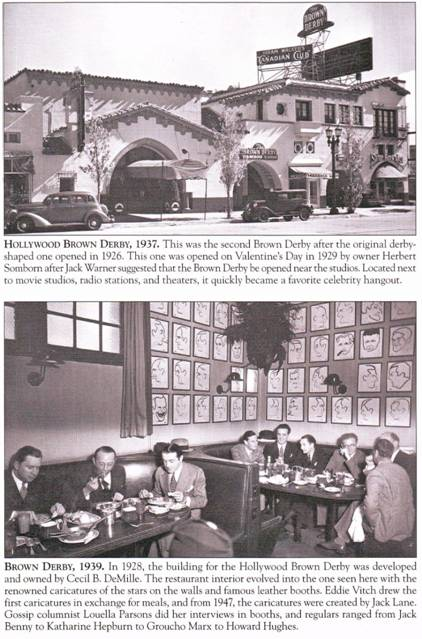 The Brown Derby - Vine Street