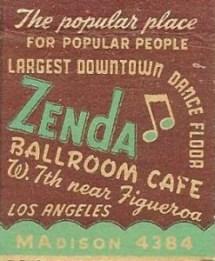 Zenda Ballroom Café