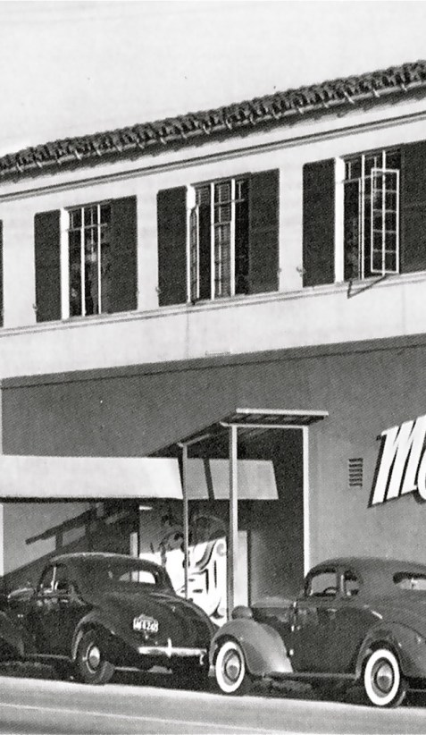 The Mocambo on the Sunset Strip in 1942