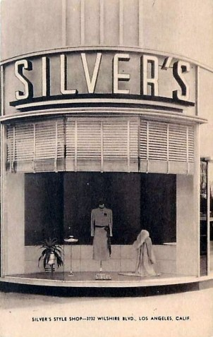 Silver's Style Shop, 3732 Wilshire Boulevard. Clothing store