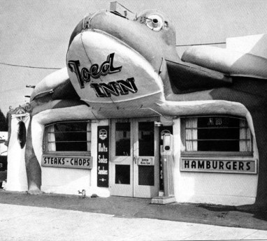 toed-inn Cafe, 12008 Wilshire Blvd, 1938
